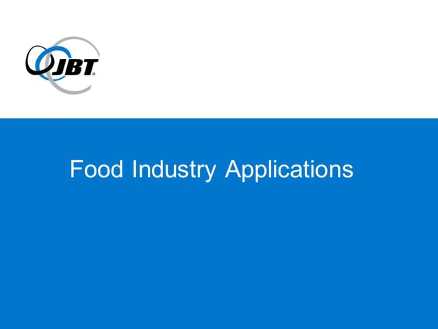 Automated Guided Vehicle (AGV) Applications for the Food Industry