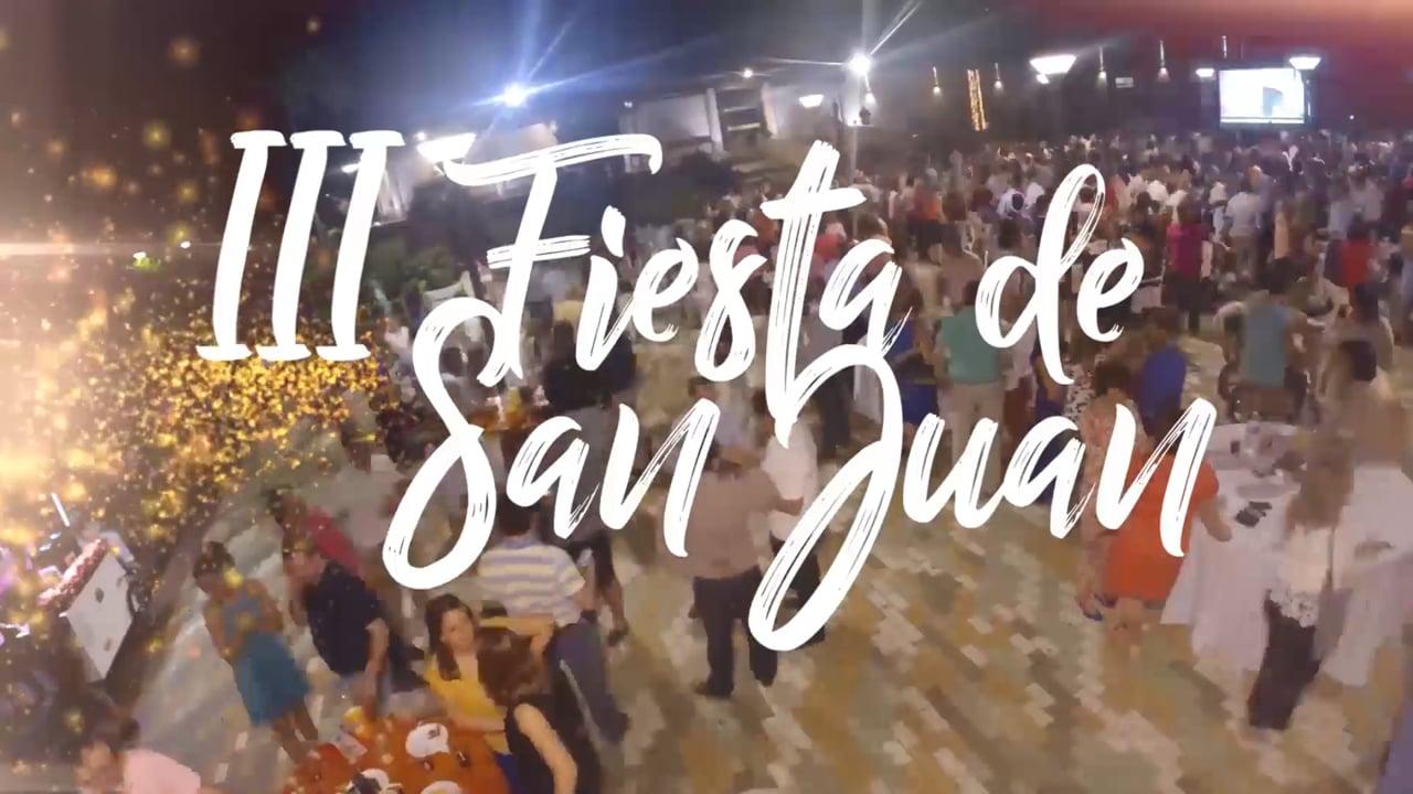 PROMO   III FIESTA DE SAN JUAN   Cofradía de la Columna   Viernes 23 de Junio   2017