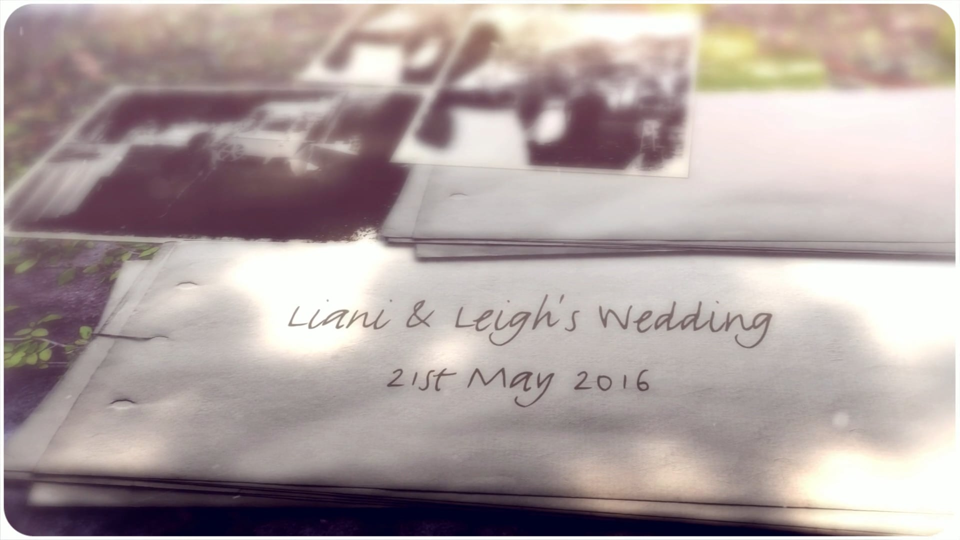 Liani & Leigh's Wedding Photo Slide Show