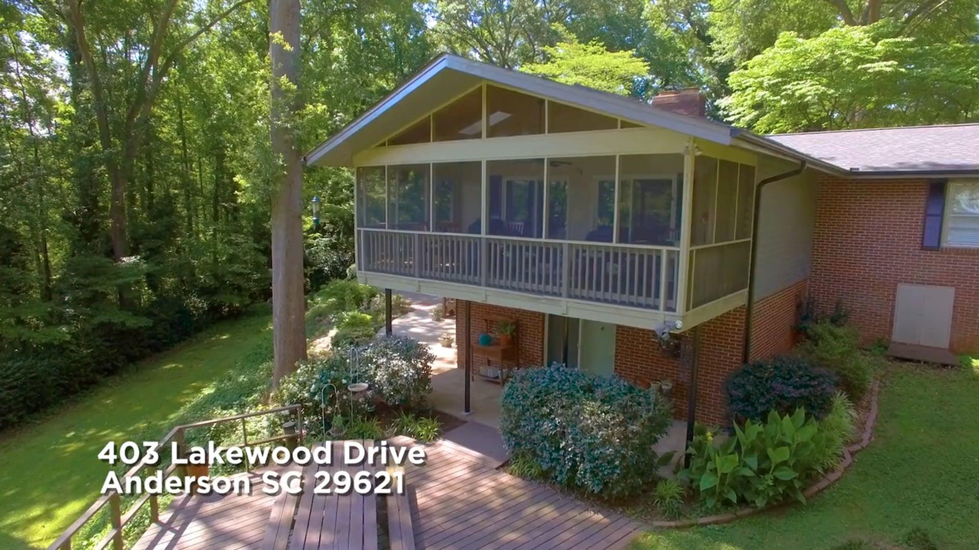 403 Lakewood Drive Anderson SC 29621