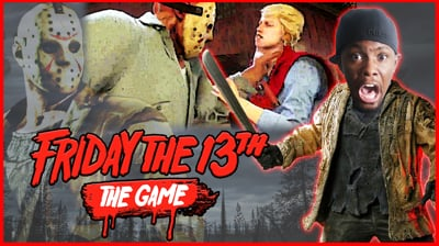 I'M HERE TO KILL EVERYBODY! - Friday The 13th Gameplay