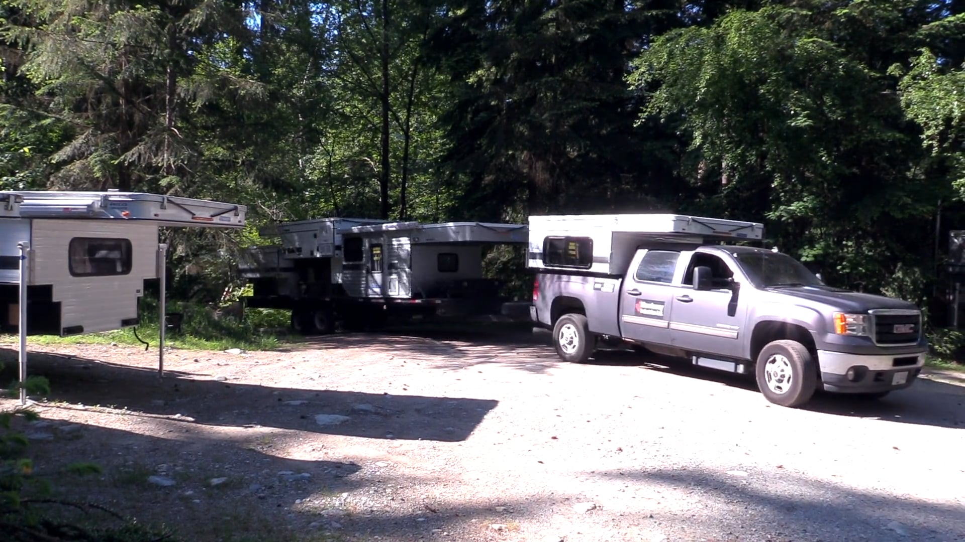 Flatbed - Returning home with the All New flatbed - Hawk Camper