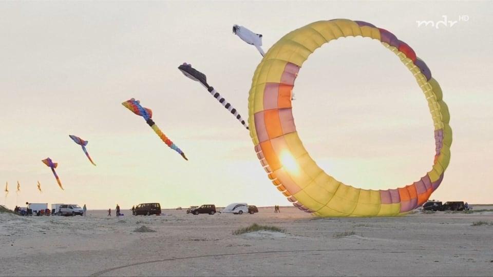 The biggest kite meeting in the world - Fanoe, Denmark