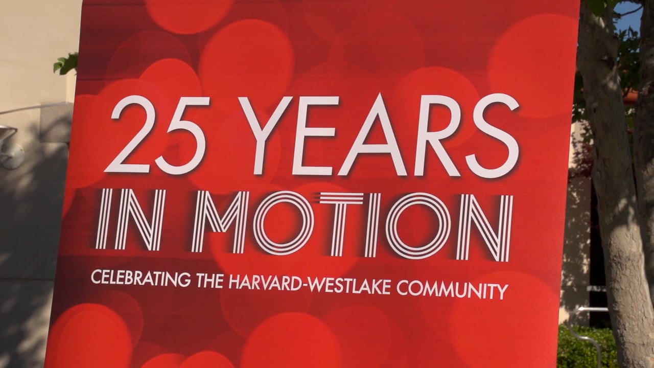 Celebrating 25 Years in Motion at Harvard-Westlake Community