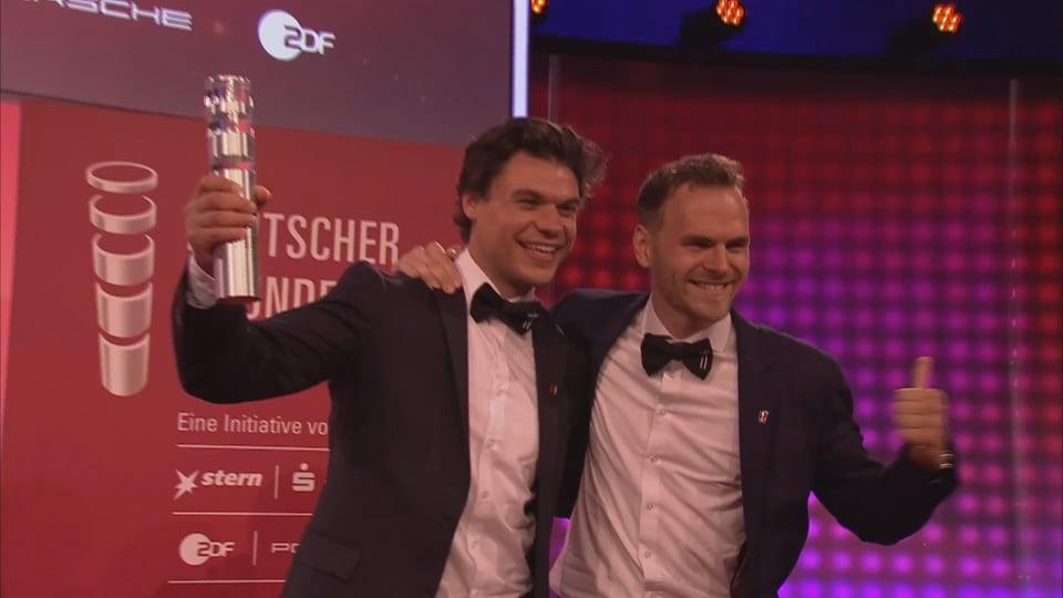 Die Verleihung des Deutschen Gründerpreises 2017