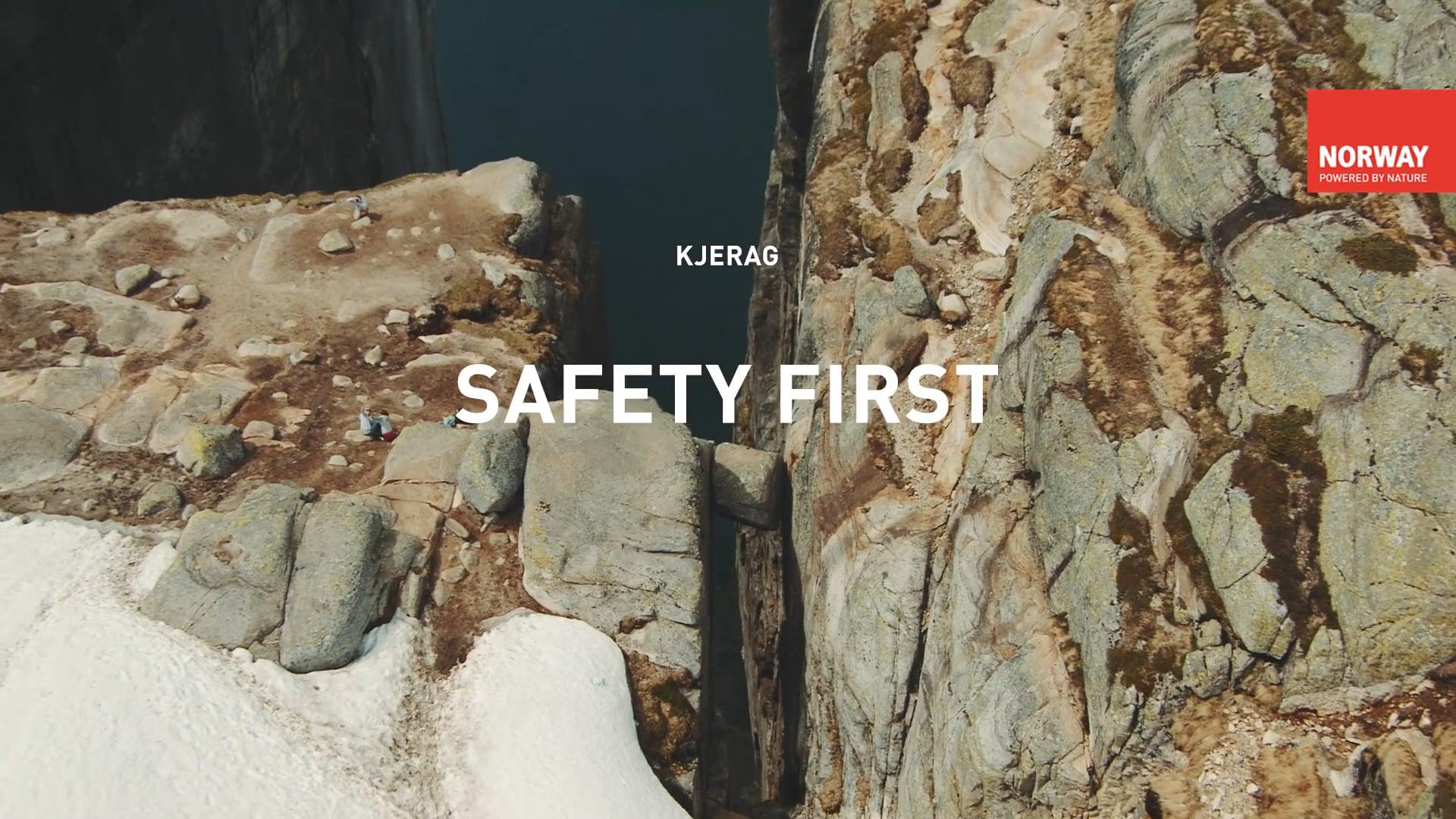 Safety tips Kjerag hike