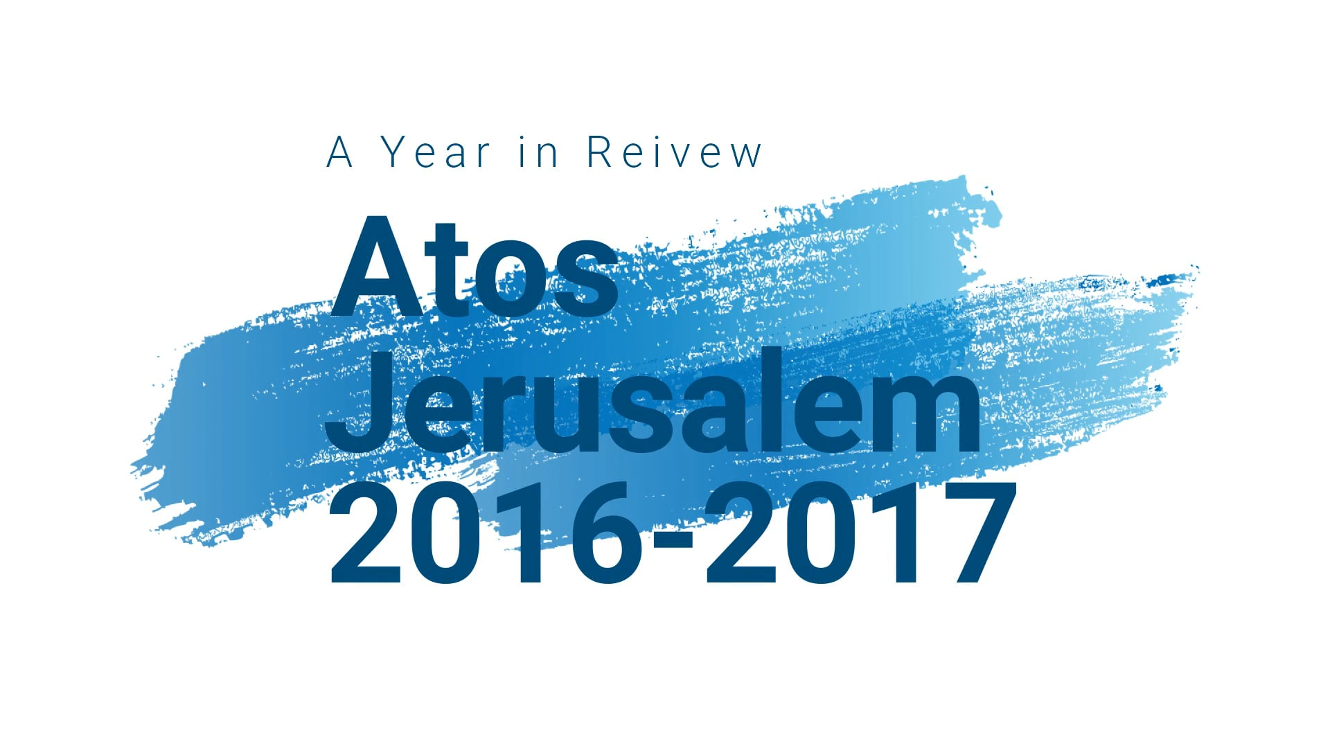 Atos Jerusalem Channel
