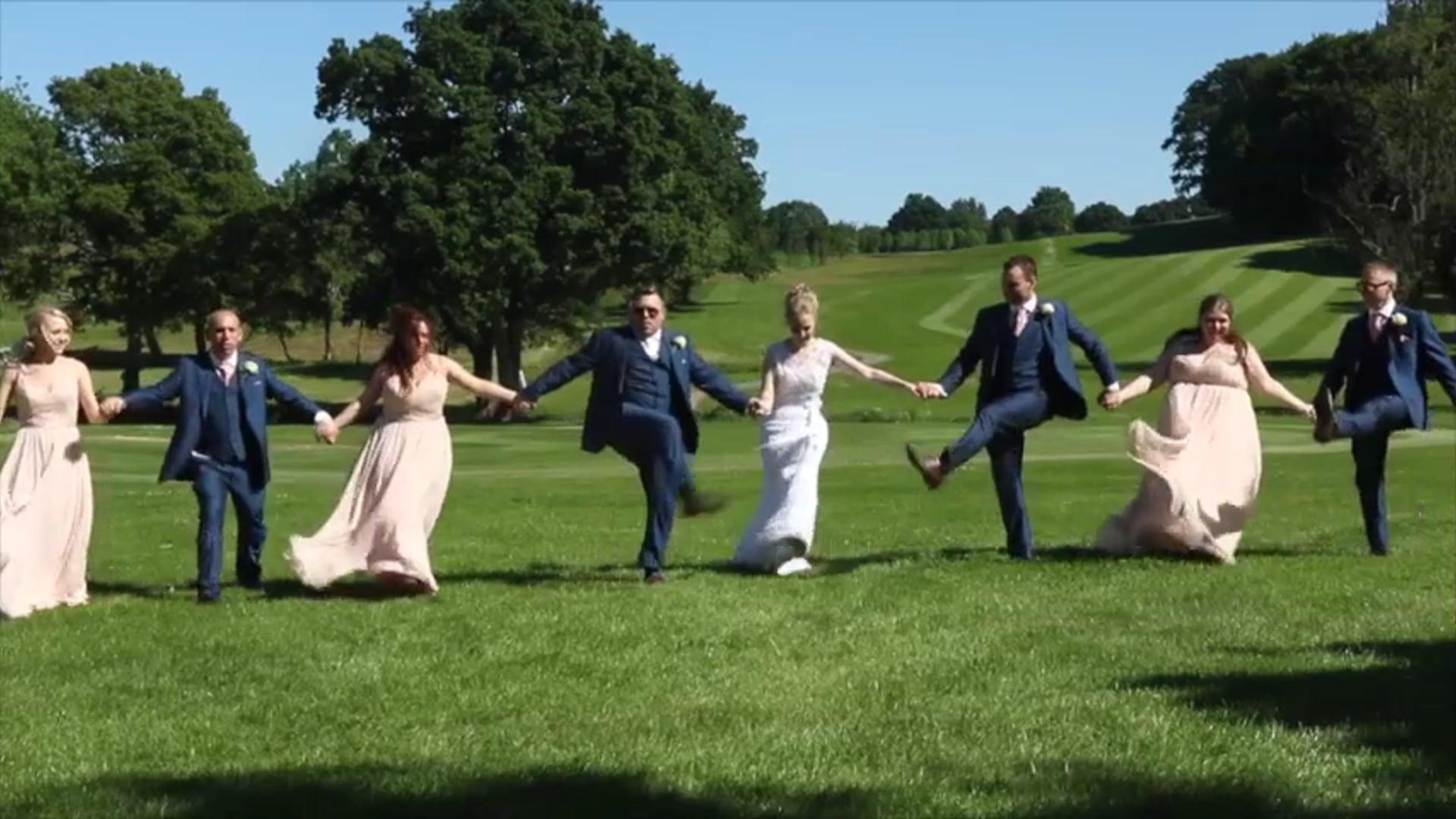 Rebecca & Simon's Wedding Day Movie, East Horton Golf Club, 26th May 2017