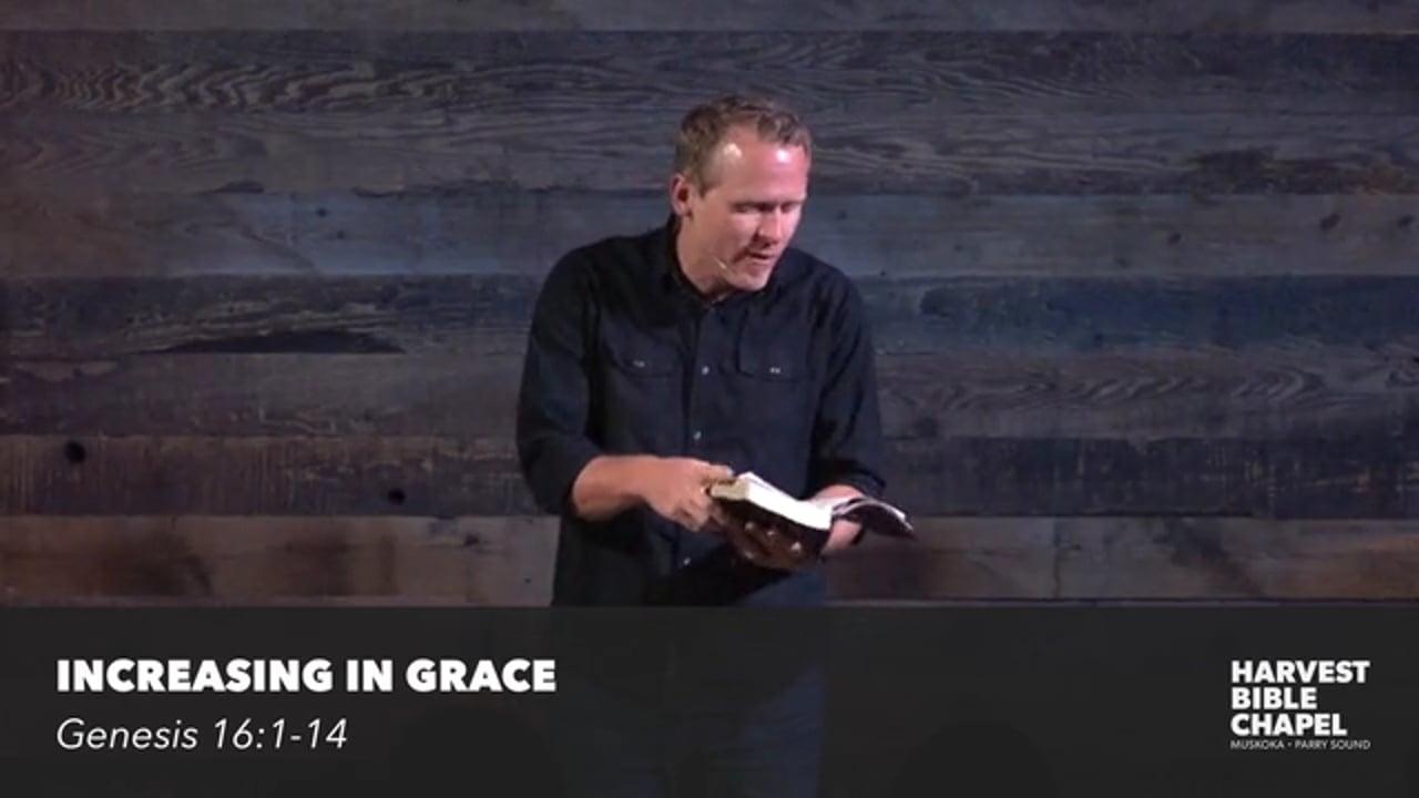 Increasing In Grace