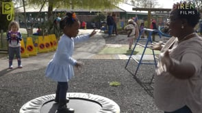Watch Khloe and the trampoline