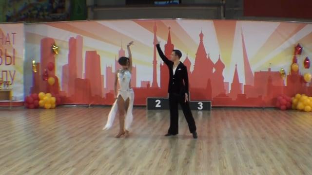 Чемпионат Москвы 2016, Коньков Андрей — Луценко Александра, slow