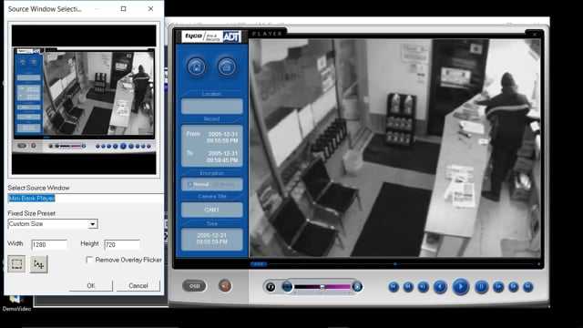 Screen Capturing into VideoFOCUS