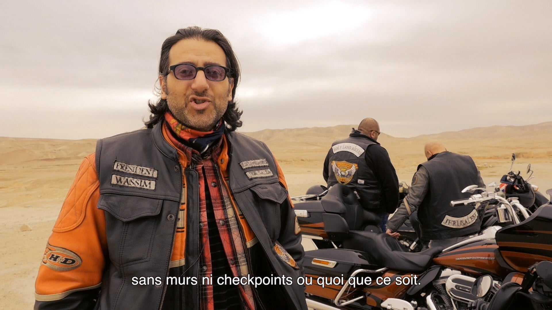 Holy land bikers