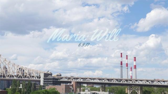 Maria & Will