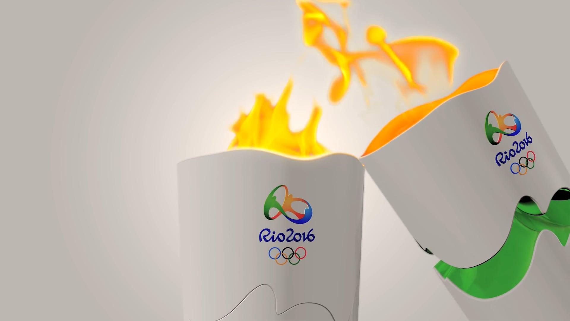Tocha Olímpica   Olympic Torch - Rio 2016