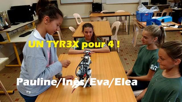 Robotique 2016-2017 - T-R3X