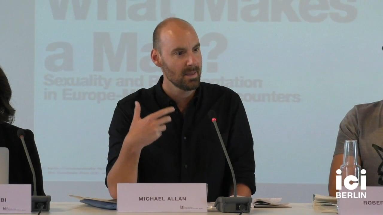 Talk by Michael Allan (Panel I)