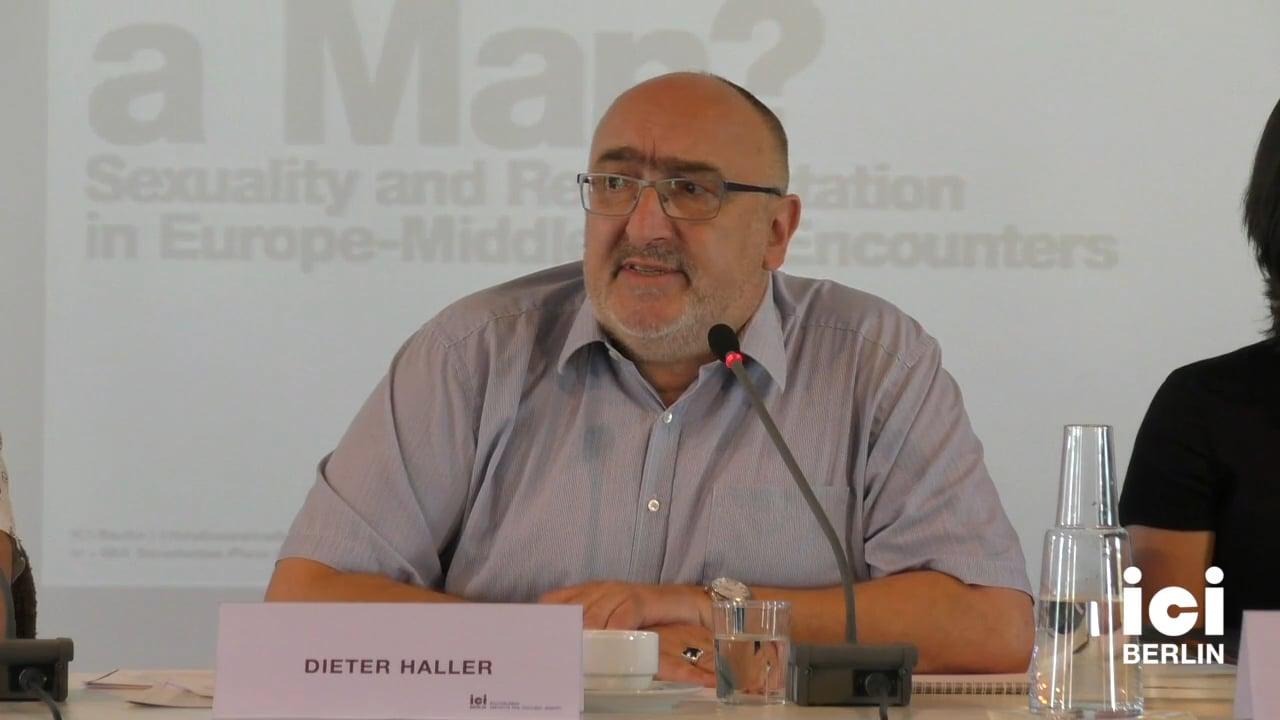 Talk by Dieter Haller (Panel II)