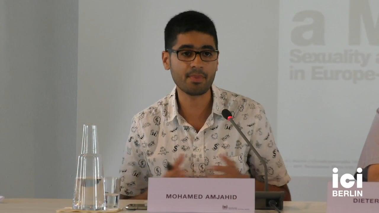 Talk by Mohamed Amjahid (Panel II)