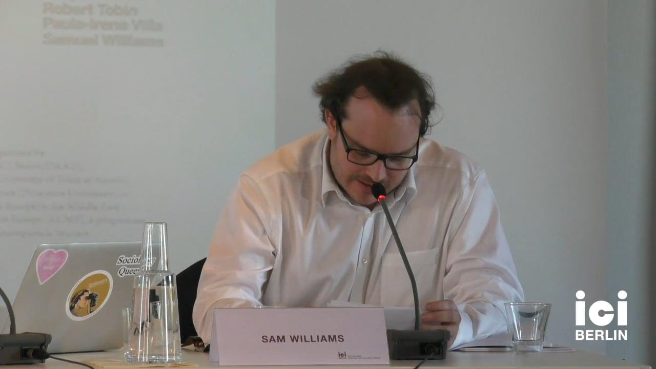 Talk by Samuel Williams (Panel II)