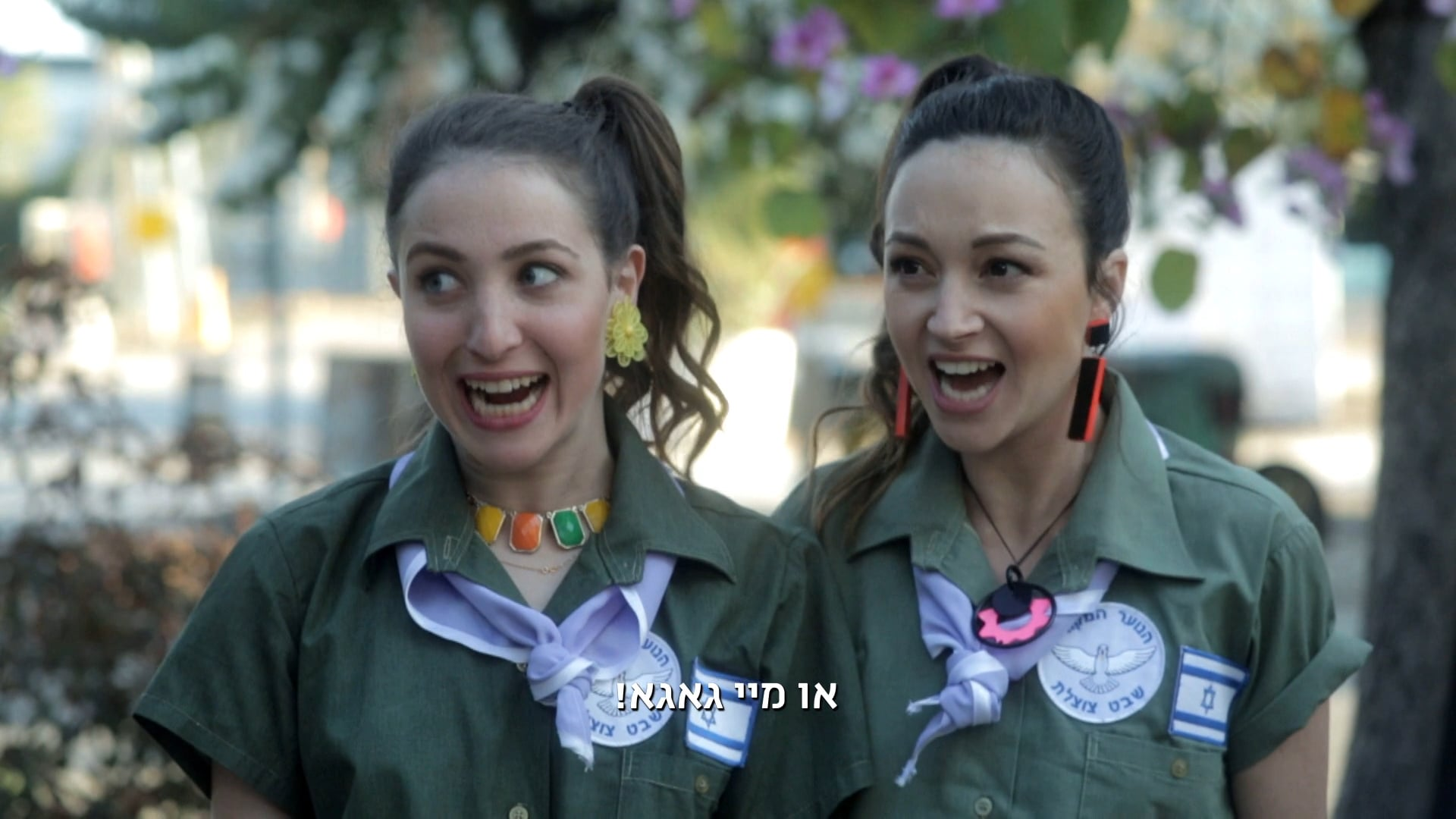 Noy & Hadar TV show for yesVOD Seanson 02 PROMO