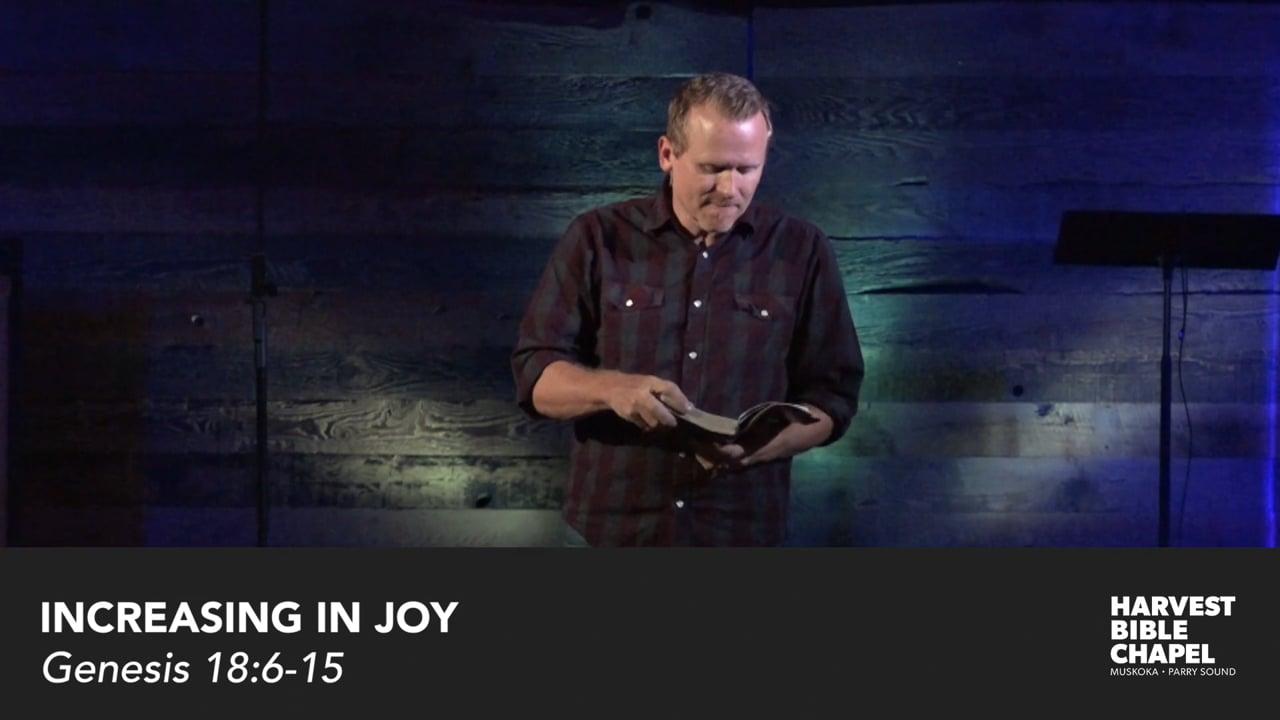 Increasing In Joy