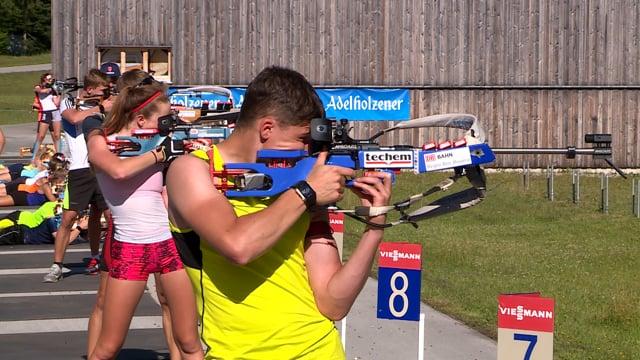 Biathlon im Sommer - aber sicher doch!