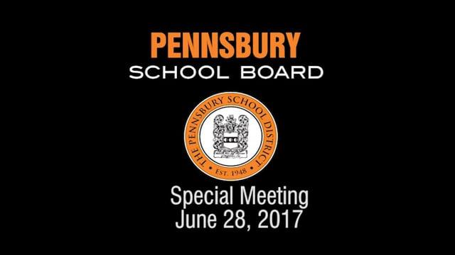 Pennsbury School Board Meeting for June 28, 2016
