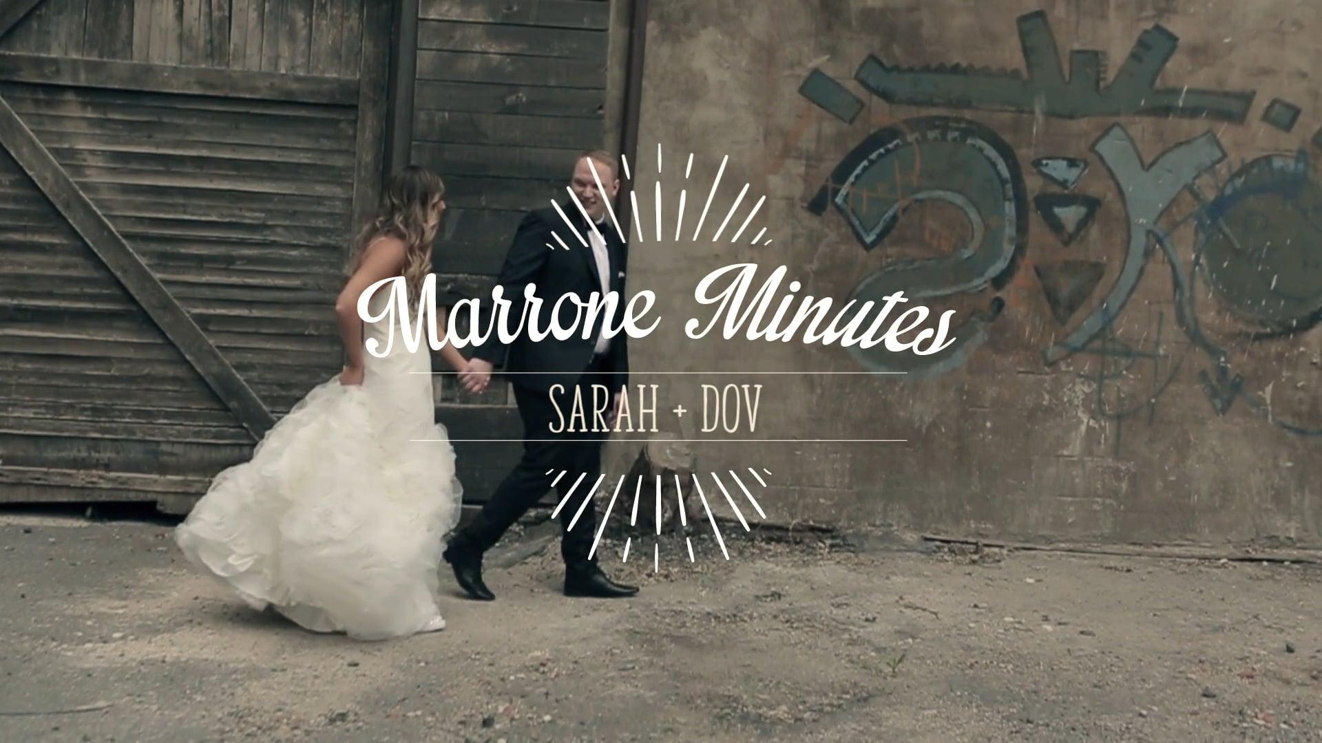 Sarah & Dov ~ Marrone Minutes