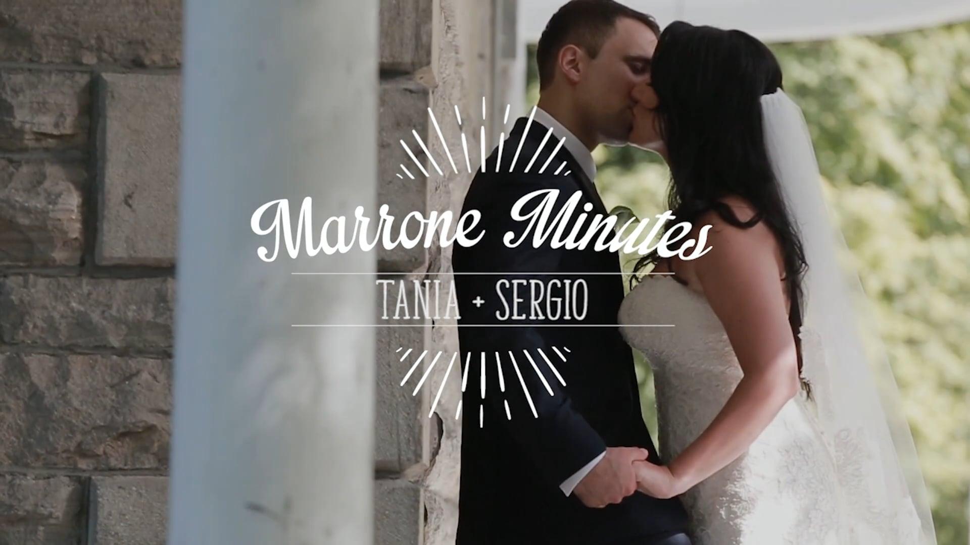 Tania & Sergio ~ Marrone Minutes