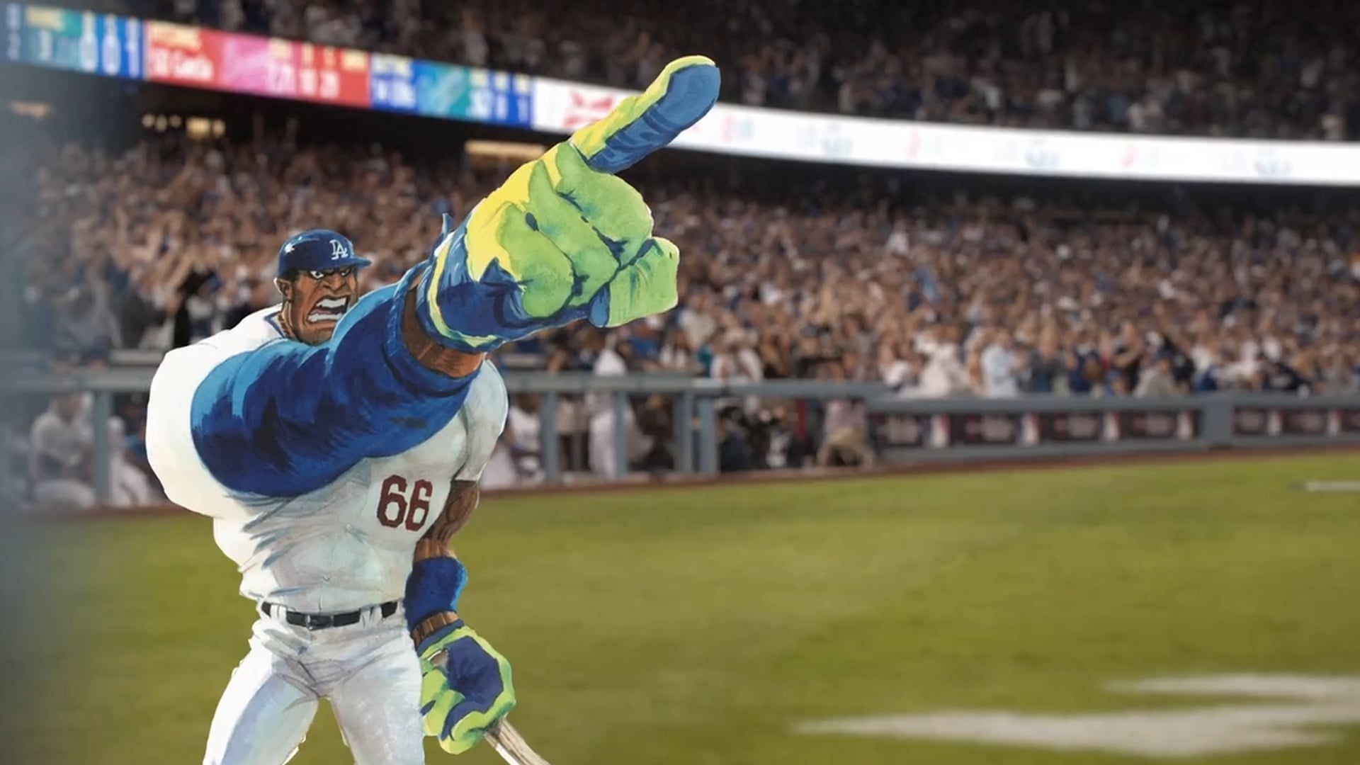 Los Angeles Dodgers In-Stadium Game Open