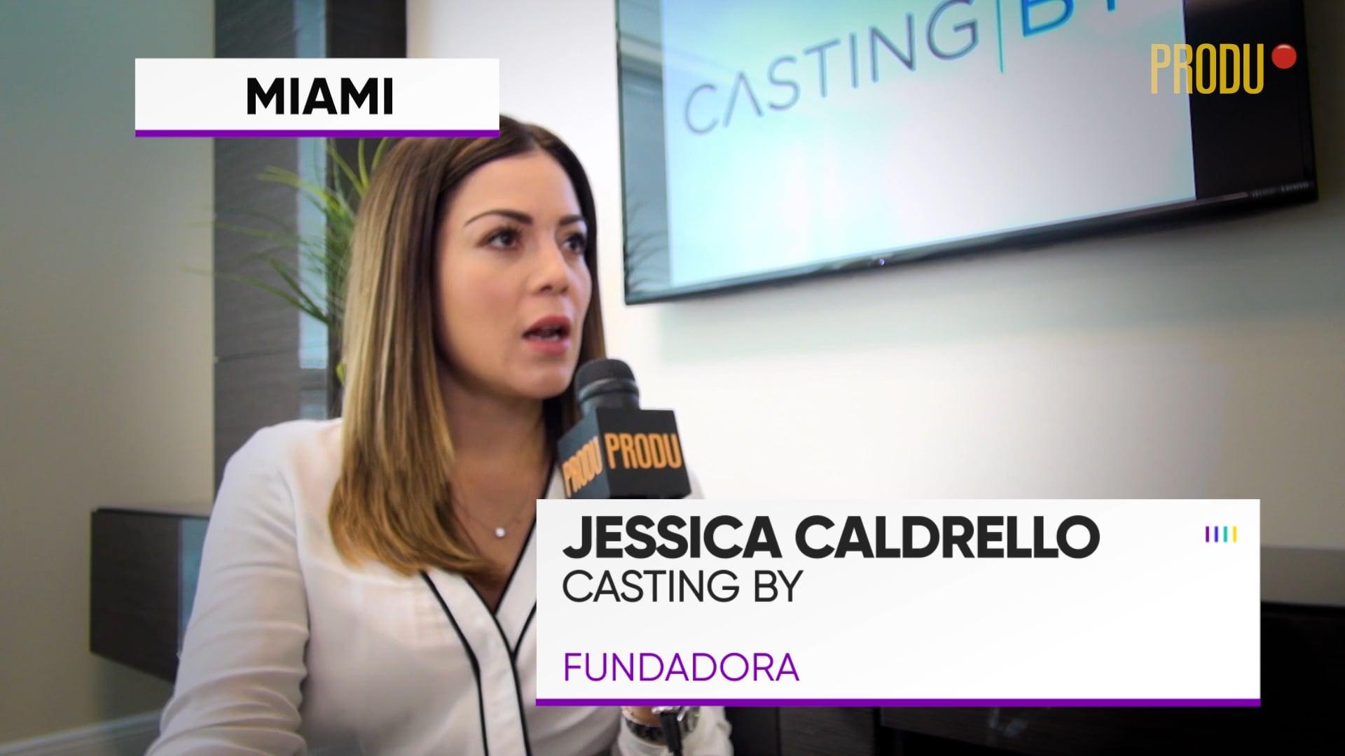 Jessica Caldrello, fundadora de Casting By