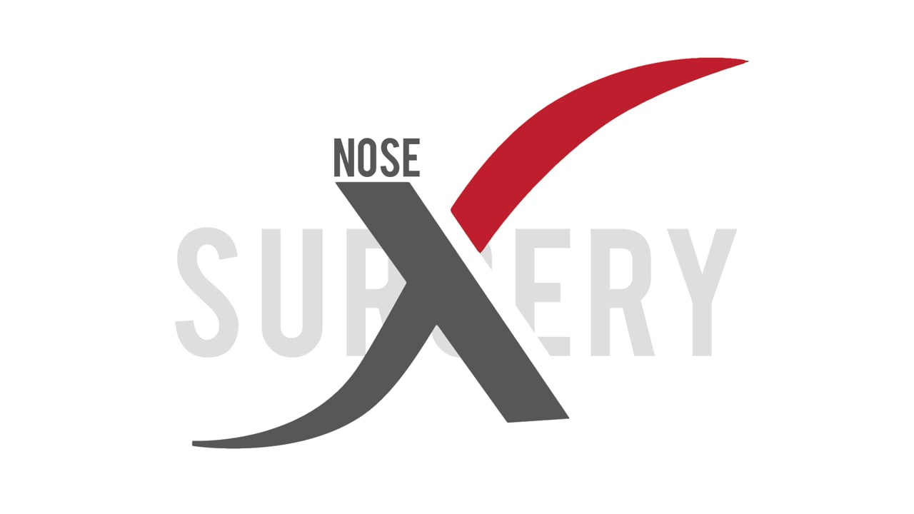 rhinoplasty placing a columnella strut for support