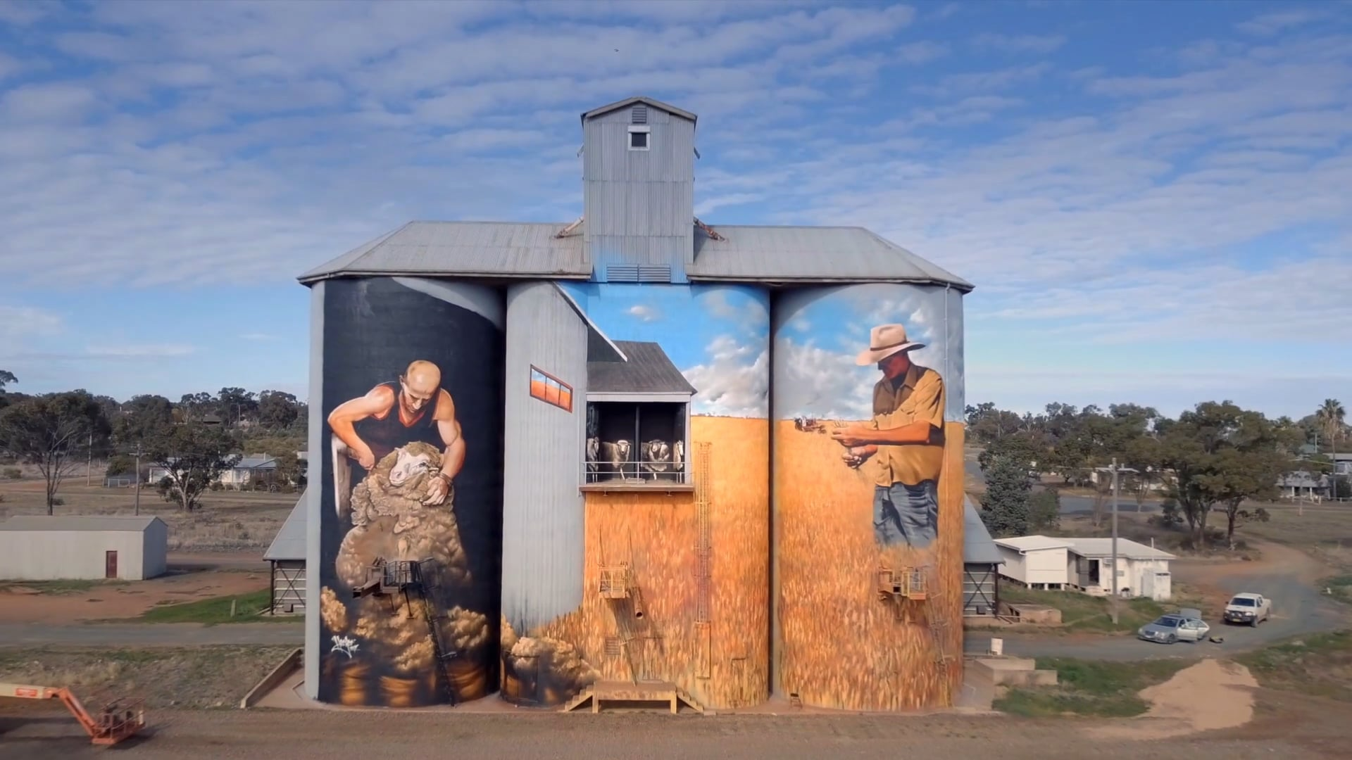 Weethalle Silo Art Project (2017)