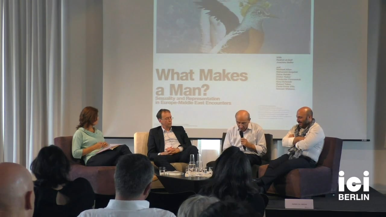 Discussion with Rashid al-Daif and Joachim Helfer
