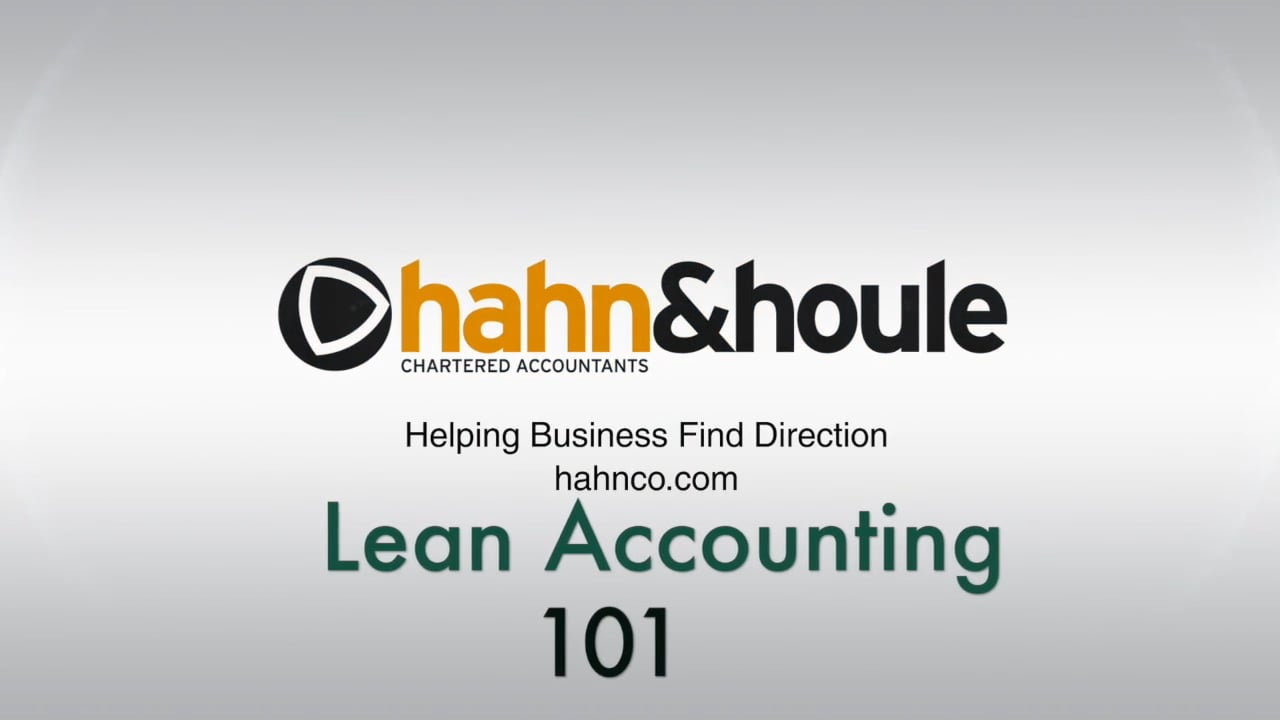 Lean Accounting 101