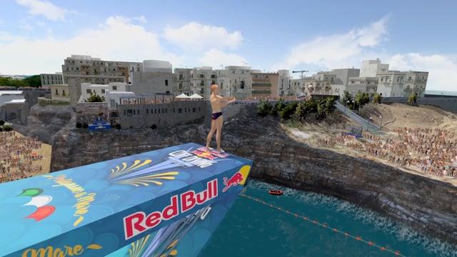 Red Bull - Cliff Diving 3DVR 2017