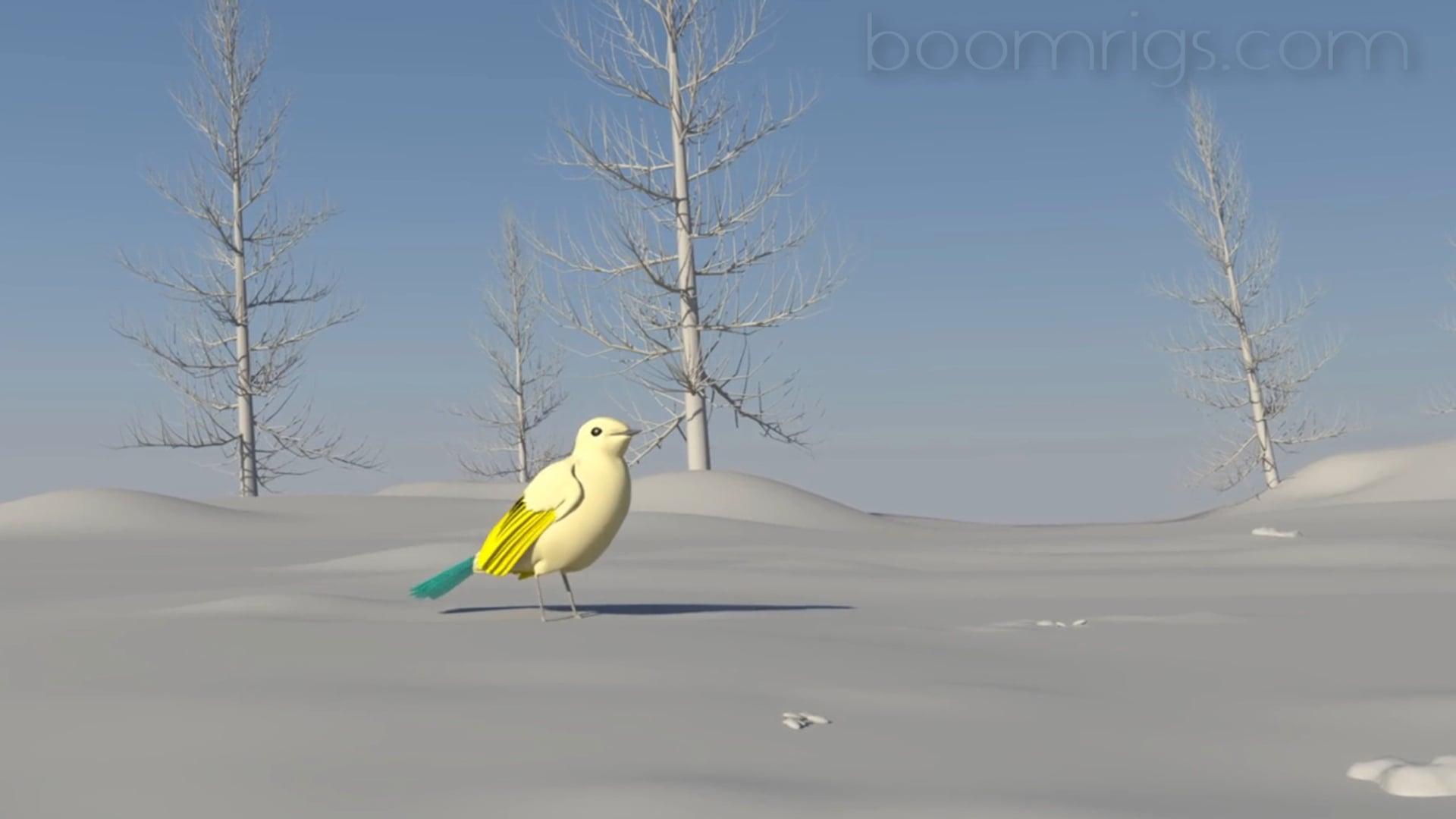 as_EasyBird - Robin Bird Rigging