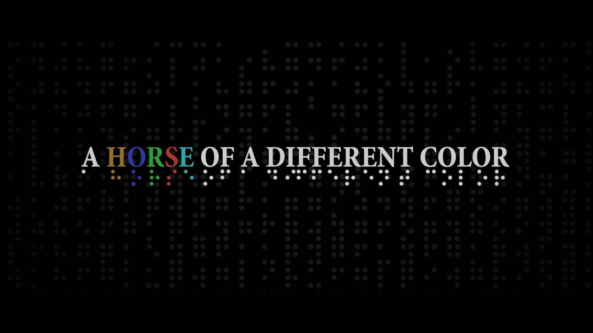A Horse Of A Different Color - Documentary Teaser Trailer