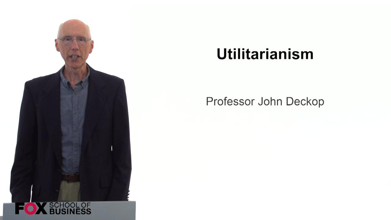 59740Utilitarianism