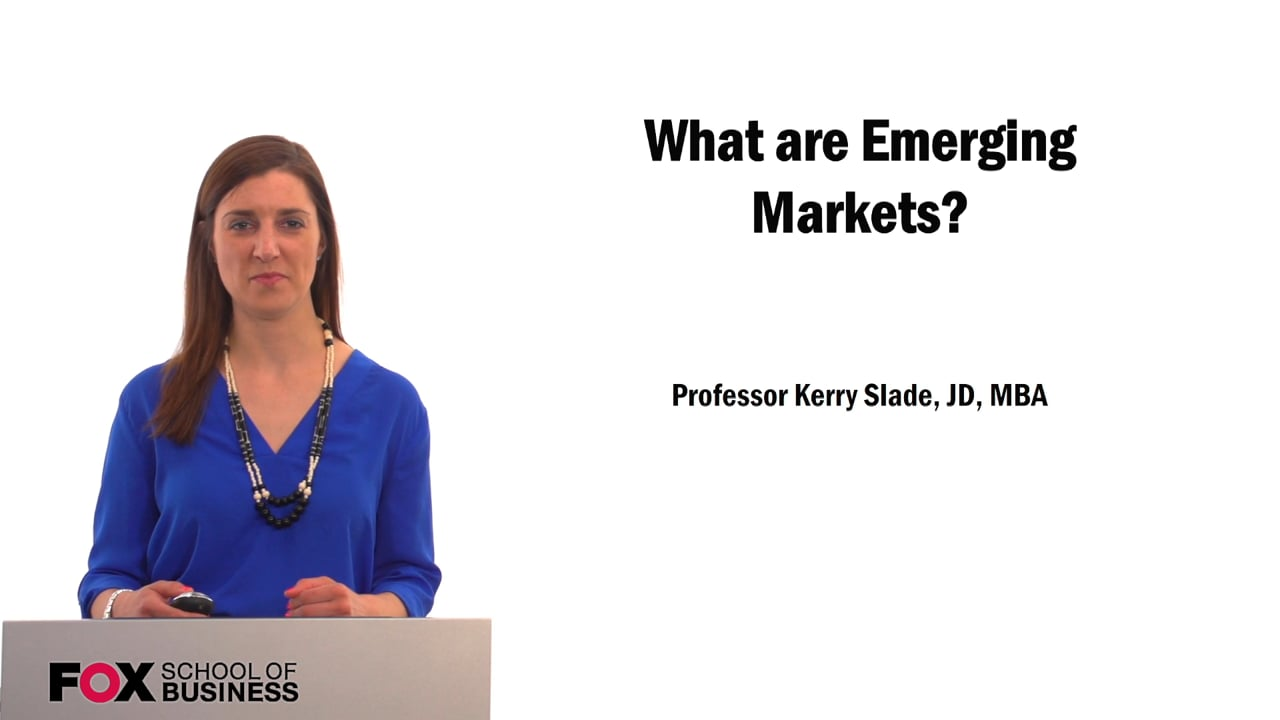 61537What are Emerging Markets?