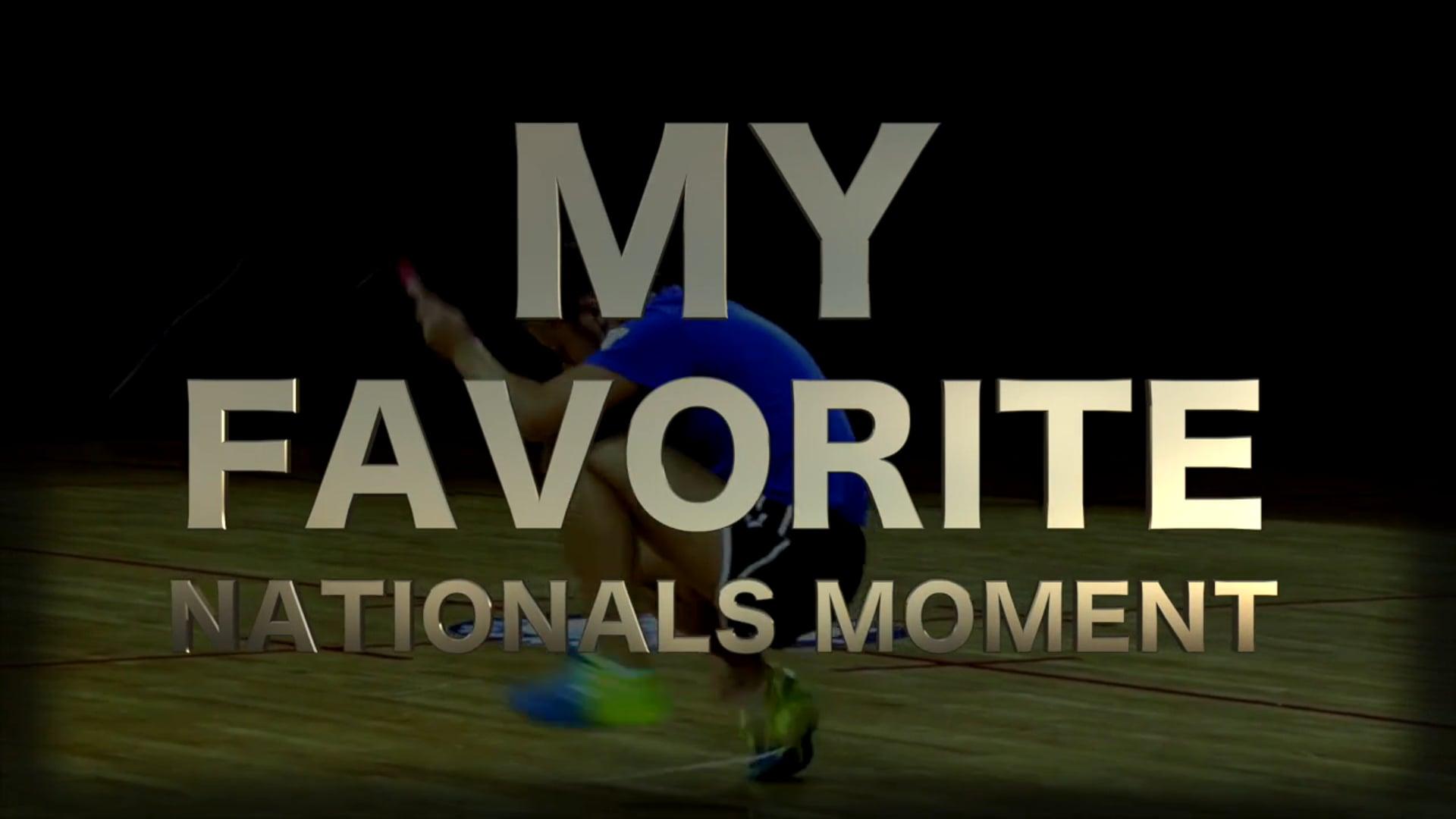 My Nationals Moment - Brett