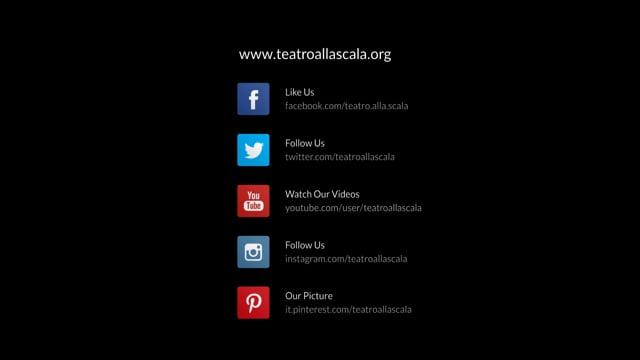 Social Media Animation - Teatro alla Scala