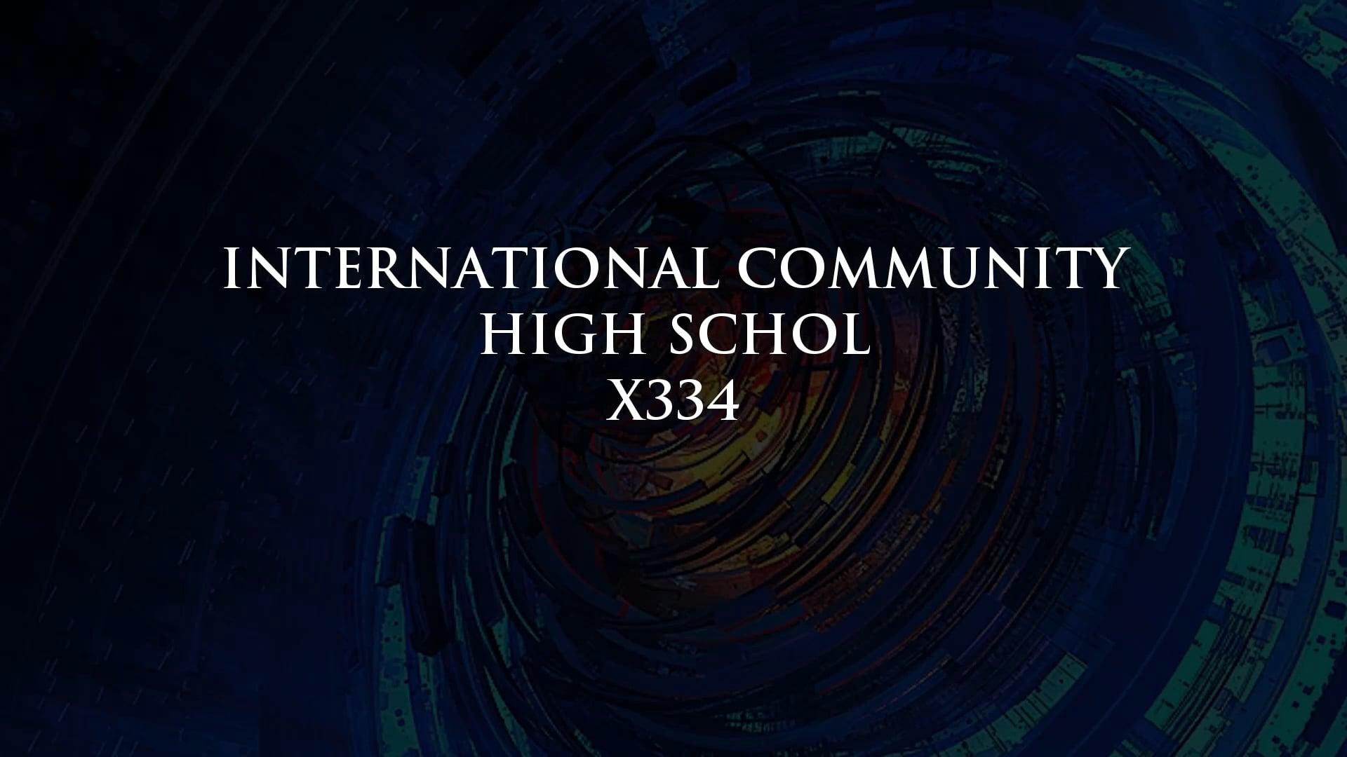International Community High School Award (Teaching Matters)