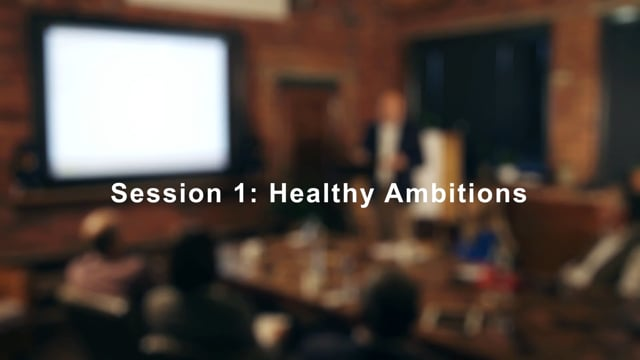 """Europartners Business Leaders Meeting Place - Session 1 """"Healthy Ambitions"""" - Compressed"""
