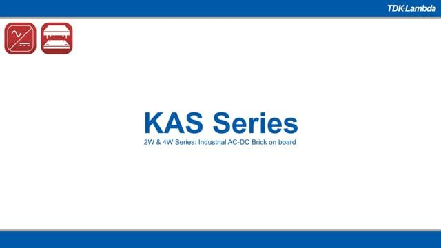 KAS 2-4W Wide AC-DC Input PCB-Mount Power Supplies
