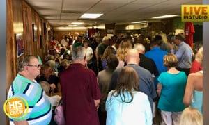 Community Has Huge Prayer Gathering for Business Owner