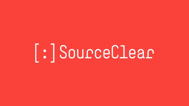 SourceClear Demo