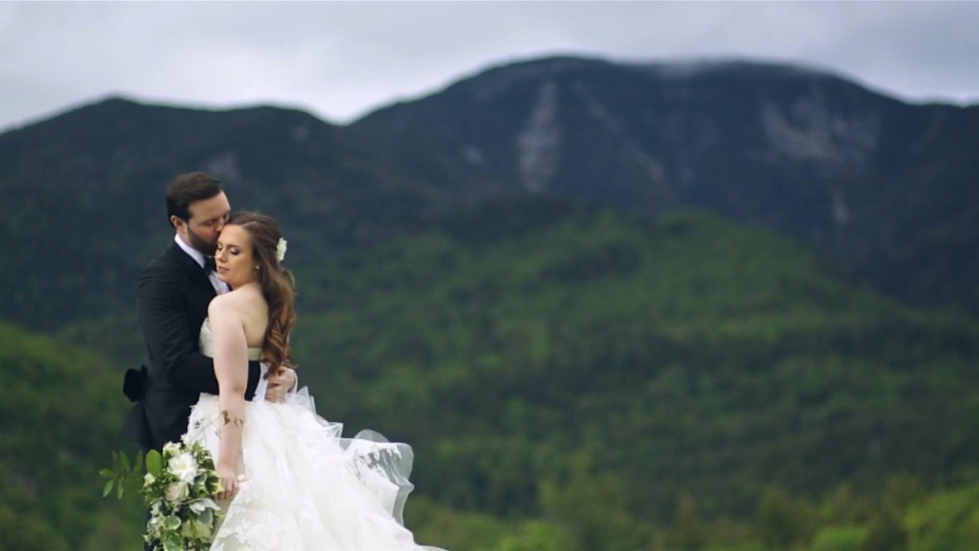 Julie+Malcolm's Adirondack Wedding