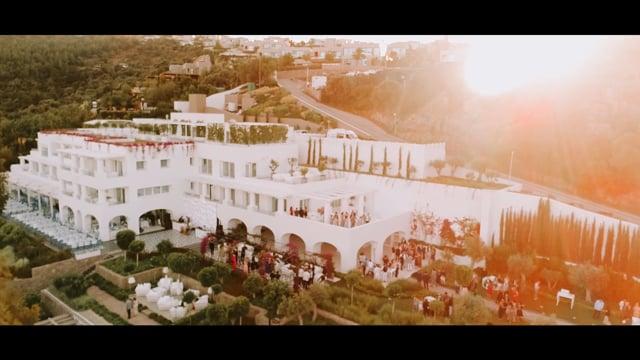 Cansu & Mahir Wedding at Il Riccio Beach House